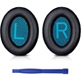 SoloWIT-Professional Bose Headphones Ear Pads Cushions Replacement - Earpads Compatible With Bose QuietComfort 15 QC15 QC25 QC2 QC35/ Ae2 Ae2i Ae2w SoundTrue & SoundLink (Around-ear Series Only)