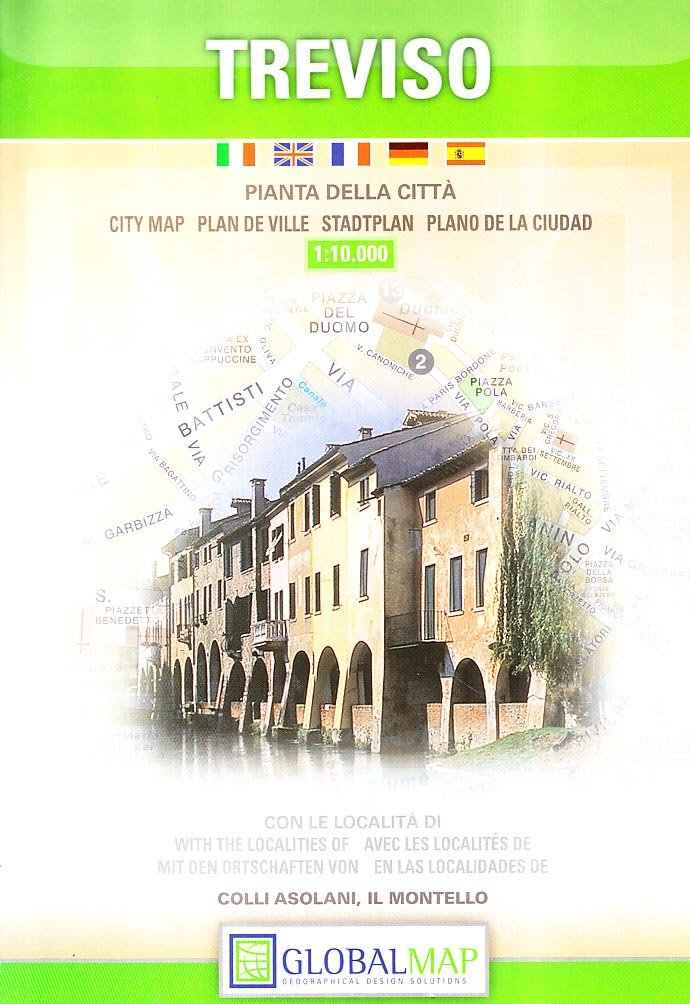 Download Treviso, Italy - City Map - 1:10,000 (English, Spanish, French, Italian and German Edition) PDF