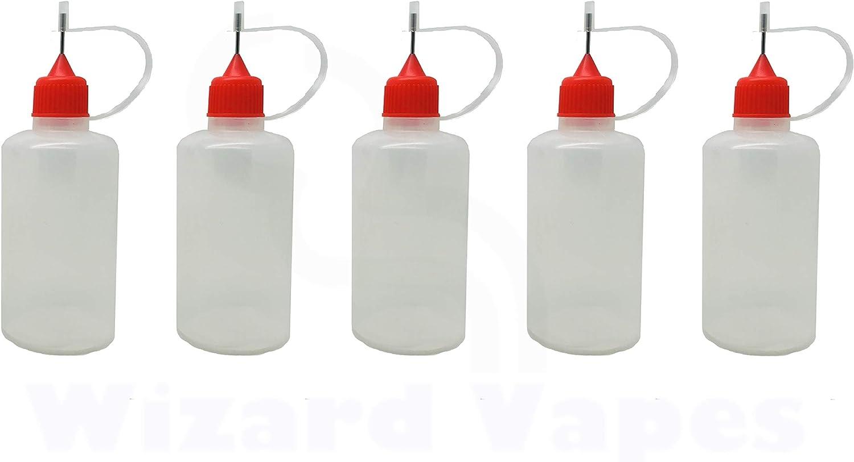 50 ml Angelakerry Lot de 5 flacons verseur en PEBD