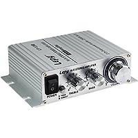 LEPY LP-V3S pequeño Amplificador HiFi para Coche, PC, Casa, Corriente DC 12 V