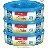 Playtex Genie - Bolsas de recambio para pañales, Multicolor, 810 Count