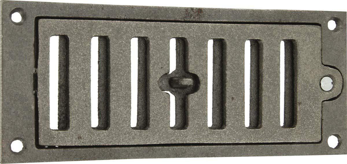 Griglia aerazione rettangolare in ghisa 180 x 75 mm