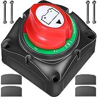 Interruptor de Aislador de Batería ZMYGOLON 1-2-Both-Off Interruptor de Apagado de 12-24V, 200-1000A 4 Posiciones, para…