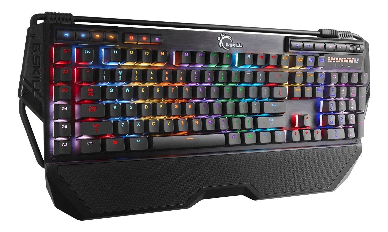 G.SKILL RIPJAWS KM780R RGB On-the-Fly Macro Mechanical Gaming Keyboard, Cherry MX Brown by G.Skill