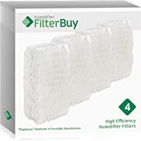 FilterBuy Replacement Humidifier Wick Filters Compatible with WF813 ReliOn, AC-813 Duracraft, ACR-832 Robitussin. Pack of 4.