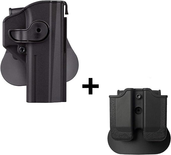 CZ-USA CZ 75 SP-01 SHADOW Target II Double Magazine Poche Par Ace Case-Usa Made