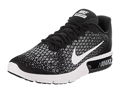 Nike Air Max Sequent 2 Black White Grey 852461-005 Men/'s Running Shoes NEW!