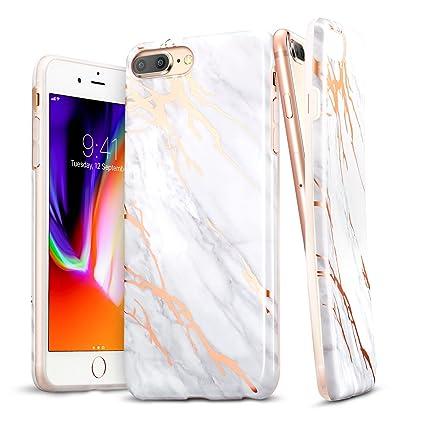 Amazon.com: ESR iPhone 8 Plus Funda, iPhone 8 Plus mármol ...