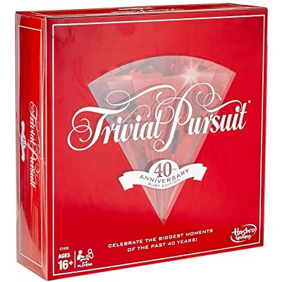 Trivial Pursuit 40th Anniversary Ruby Edition: Toys & Games