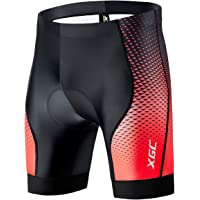 XGC Men's Cycling Shorts/Bike Shorts and Cycling Underwear with High-Density and High-Elasticity 3D Sponge Padded