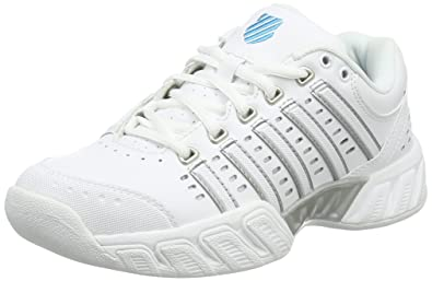 buy online 62129 19bb9 K-Swiss Performance Women s Bigshot Light LTR Carpet Tennis Shoes, Weiß  (White
