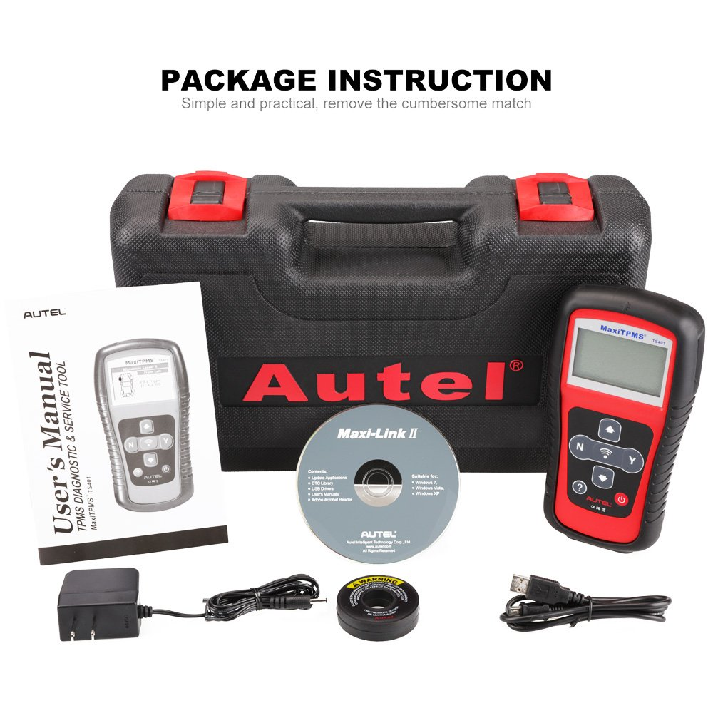 Autel Tire Pressure Monitoring System TS401 with MX Sensor Programming function by Autel (Image #7)