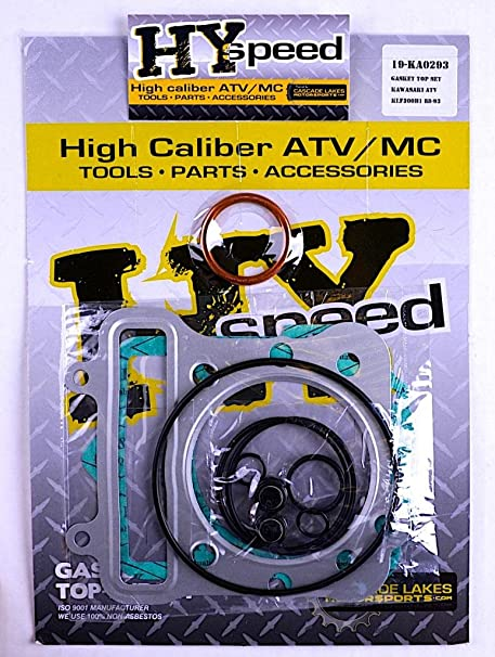 ATV, Side-by-Side & UTV Body & Frame KAWASAKI BAYOU LAKOTA 300 ENGINE COMPLETE GASKETS KIT ATV, Side-by-Side & UTV Fenders