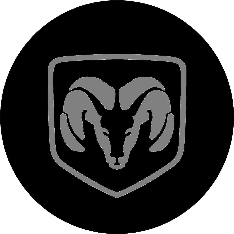 Dodge Ram Black and Gray Replacement Decal Sticker 6 Piece Set eye2dye 2