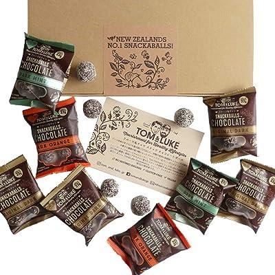 トム&ルーク フルーツ&ナッツ チョコレート スナックボールセット 33g×8袋