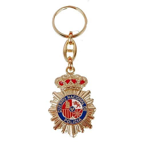 Llavero Cuerpo Nacional de Policia CNP