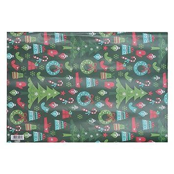 Bastelpapier Weihnachten.Toyvian Geschenkpapier Für Weihnachten Dekoration Urlaub Umschlag