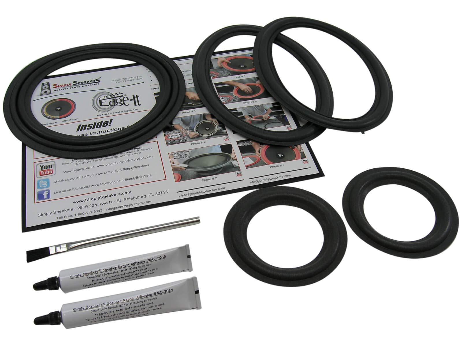 Lexus SC430 Complete System Speaker Repair Kit FSK-SC430 by Simply Speakers