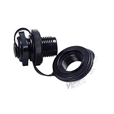 HUANSHENG 3 Pieces Inflatable Air Pump Hose Adapter Boat Foot Pump Valve Adapter Replacement fit for Boat Kayak