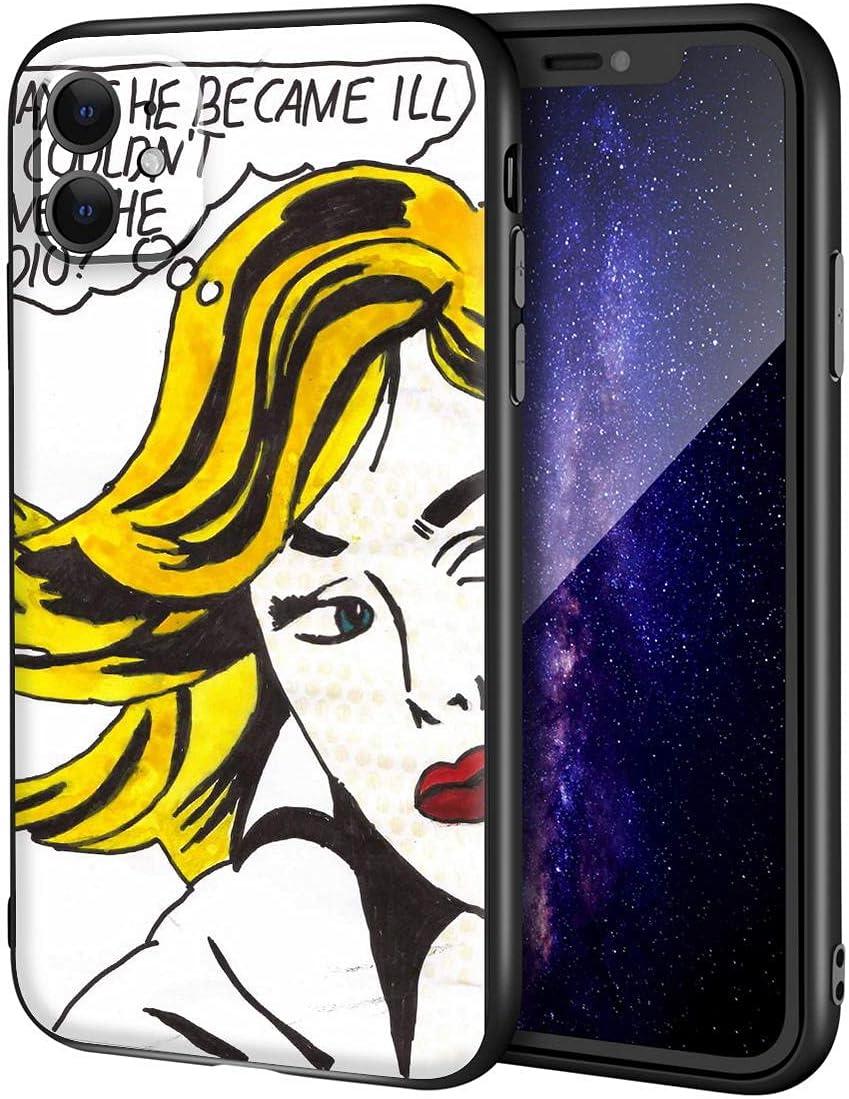 Roy Lichtenstein for iPhone 11 Case/Art Cellphone Case/Giclee UV Reproduction Print on Mobile Phone Cover(Art I)