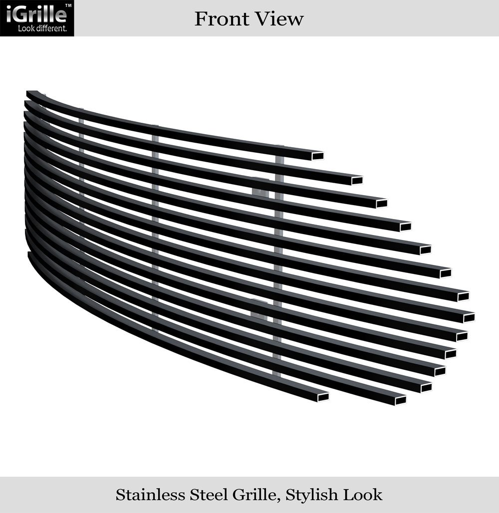 Amazon com fits 2013 2016 ford fusion upper billet grille insert f65940a automotive