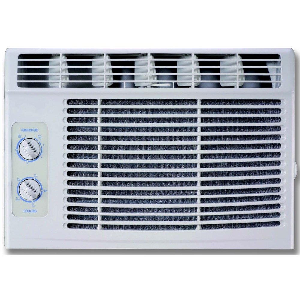 5,000 BTU 115V Window Air Conditioner with Mechanical Controls