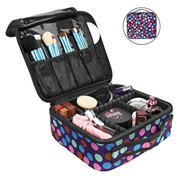 Amazon.com: NiceEbag - Neceser de viaje para maquillaje ...