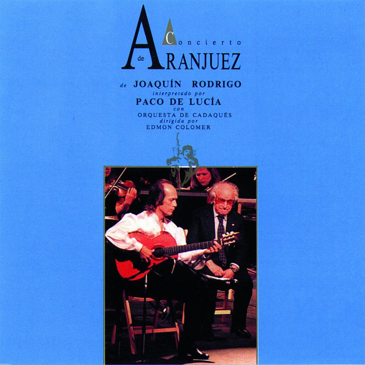 Paco De Lucia Concierto De Aranjuez Music