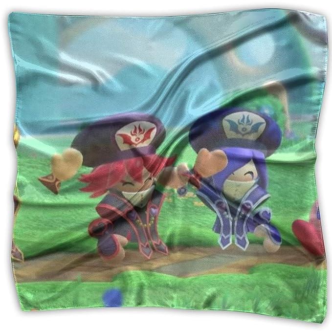 Amazon.com: Kirby Neck Scarf Square Silk Party Handkerchiefs ...