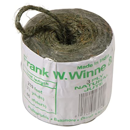 Gardening /& Household Uses JUTE TWINE 3ply 219ft Crafts