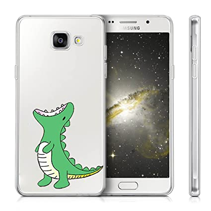 Funda Samsung Galaxy A5 2017 A520 Dinosaurio verde Mariposas ...