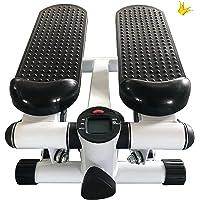 Portable Hydraulische Stepper,Fitness Hydraulische Stepper, draaistepper en sidestepper voor beginners, met Monitor en…