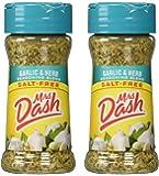 Mrs. Dash Garlic & Herb All Natural Seasoning Blend 2.5 oz - Pack of 2