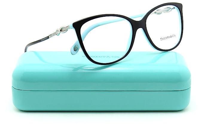 ff8d603dbaac Tiffany & Co. TF 2143B Women Oval Eyeglasses RX - able (8055) 53mm ...
