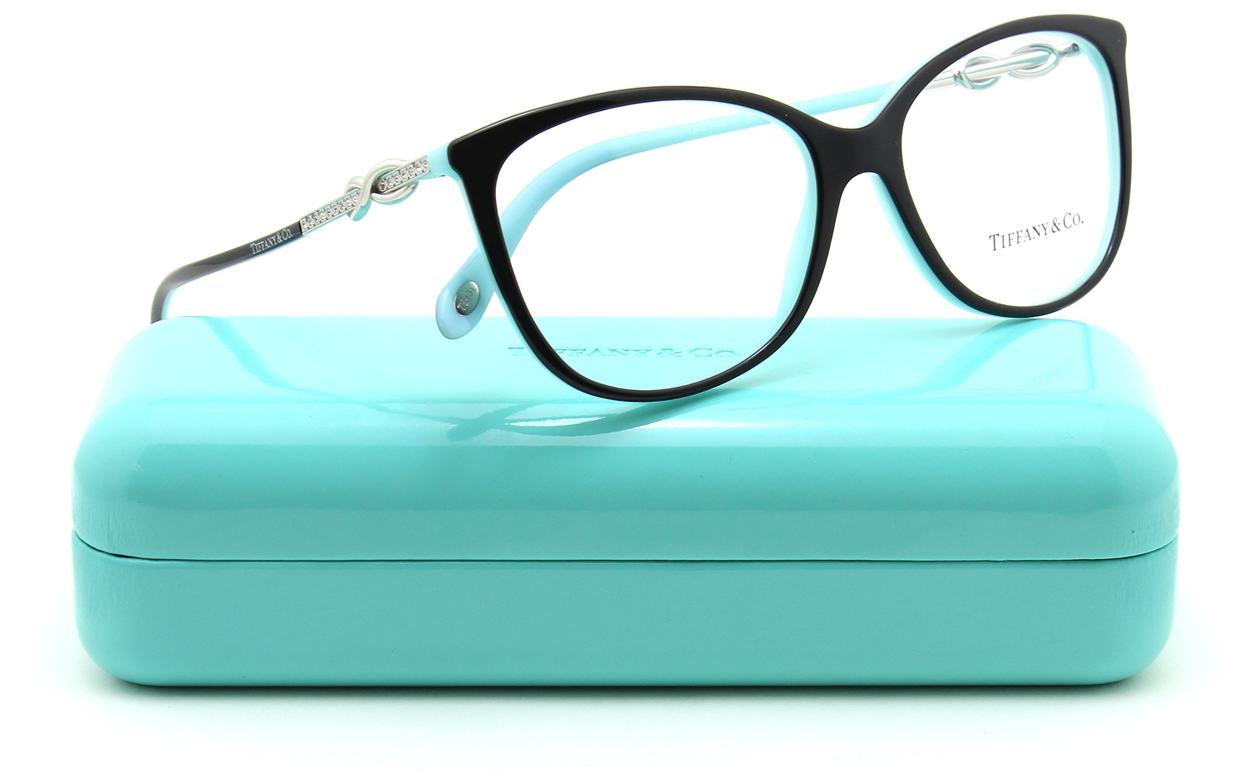 Tiffany & Co. TF 2143-BF Women Oval Eyeglasses RX - able Asian Fit 8055, 55mm