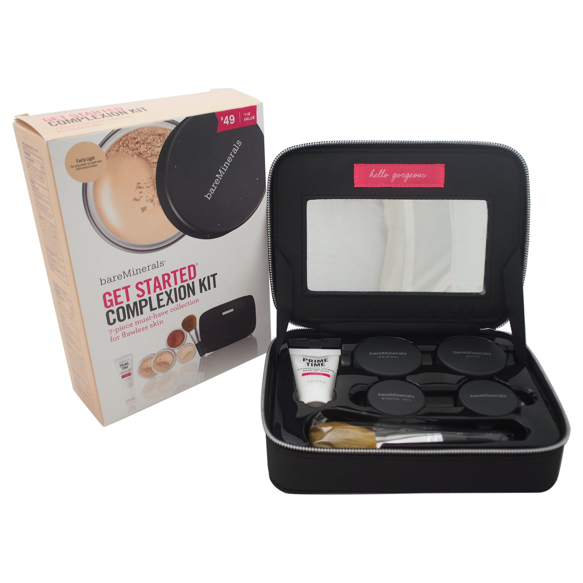 bareMinerals Get Started 7 Piece Complexion Kit, Fairly Light