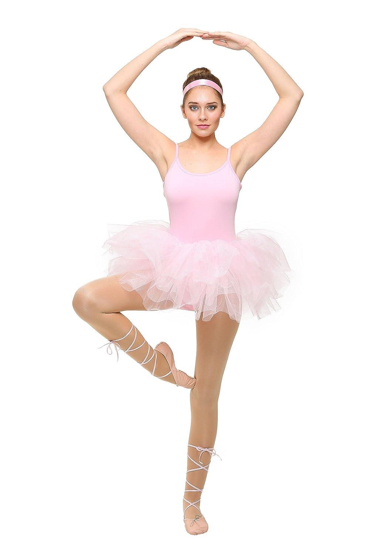 Fun Costumes Klassisches Ballerina Kostüm für Erwachsene - L