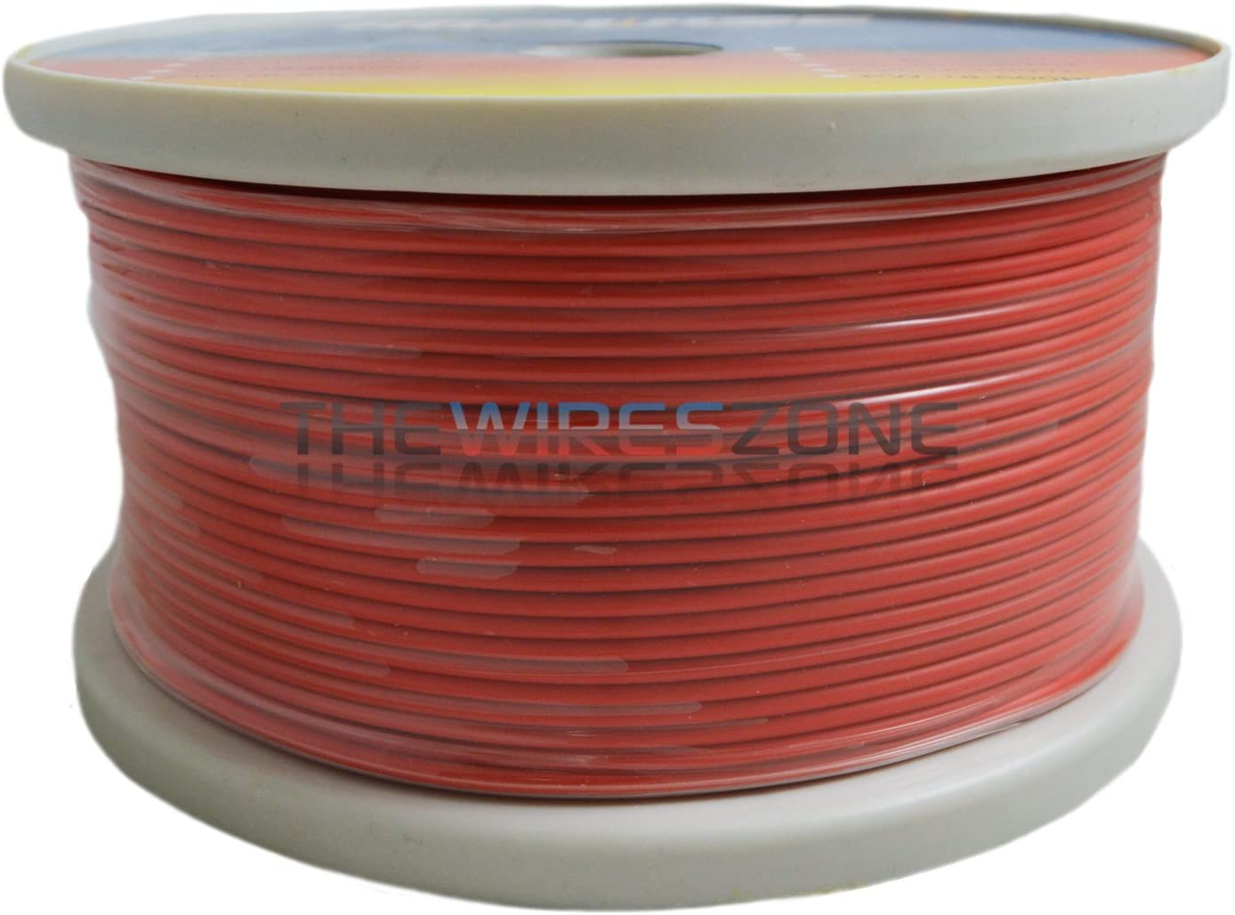 Red 18 Gauge AWG 500 Feet ft Stranded Primary Remote Wire Cable