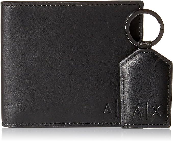 Amazon.com: Armani Exchange - Cartera y llavero para hombre ...