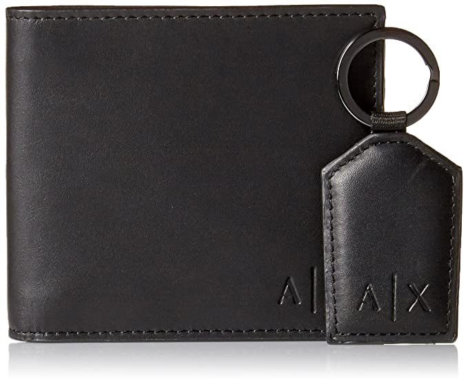 Amazon.com: Armani Exchange - Cartera y llavero para hombre ...