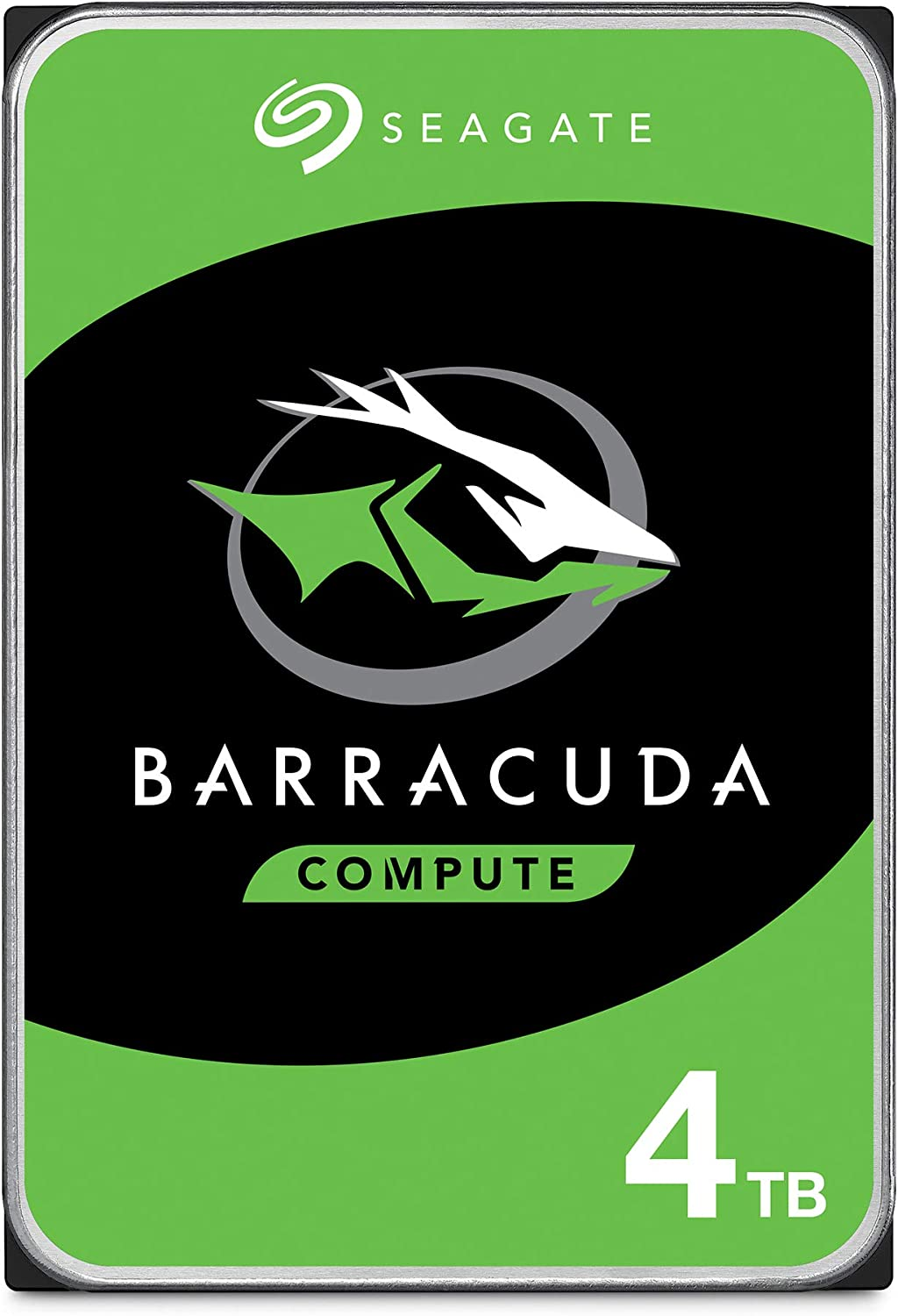 Seagate BarraCuda 4TB Internal Hard Drive HDD – 3.5 Inch Sata 6 Gb/s 5400 RPM 256MB Cache for Computer Desktop PC – Frustration Free Packaging ST4000DMZ04/DM004