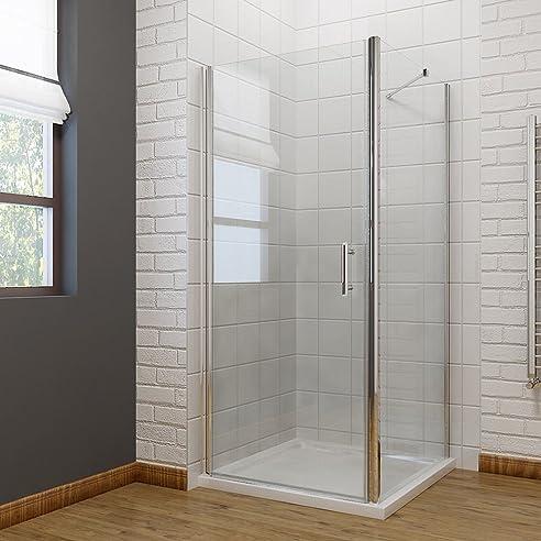 duschkabine 76x76cm ohne duschtasse pendeltr rahmenlose duschabtrennung schwingtr duschtr duschwand - Dusche Pendeltur Schwingtur