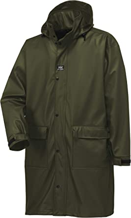Helly-Hansen Workwear Men's Impertech Guide Long Fishing and Rain Coat