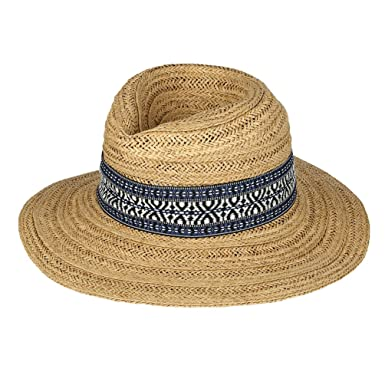 95d0156e91d VBIGER Men   Women Straw Sun Hat Panama Summer Fedora Trilby Hat Safari Cap  Foldable Floppy