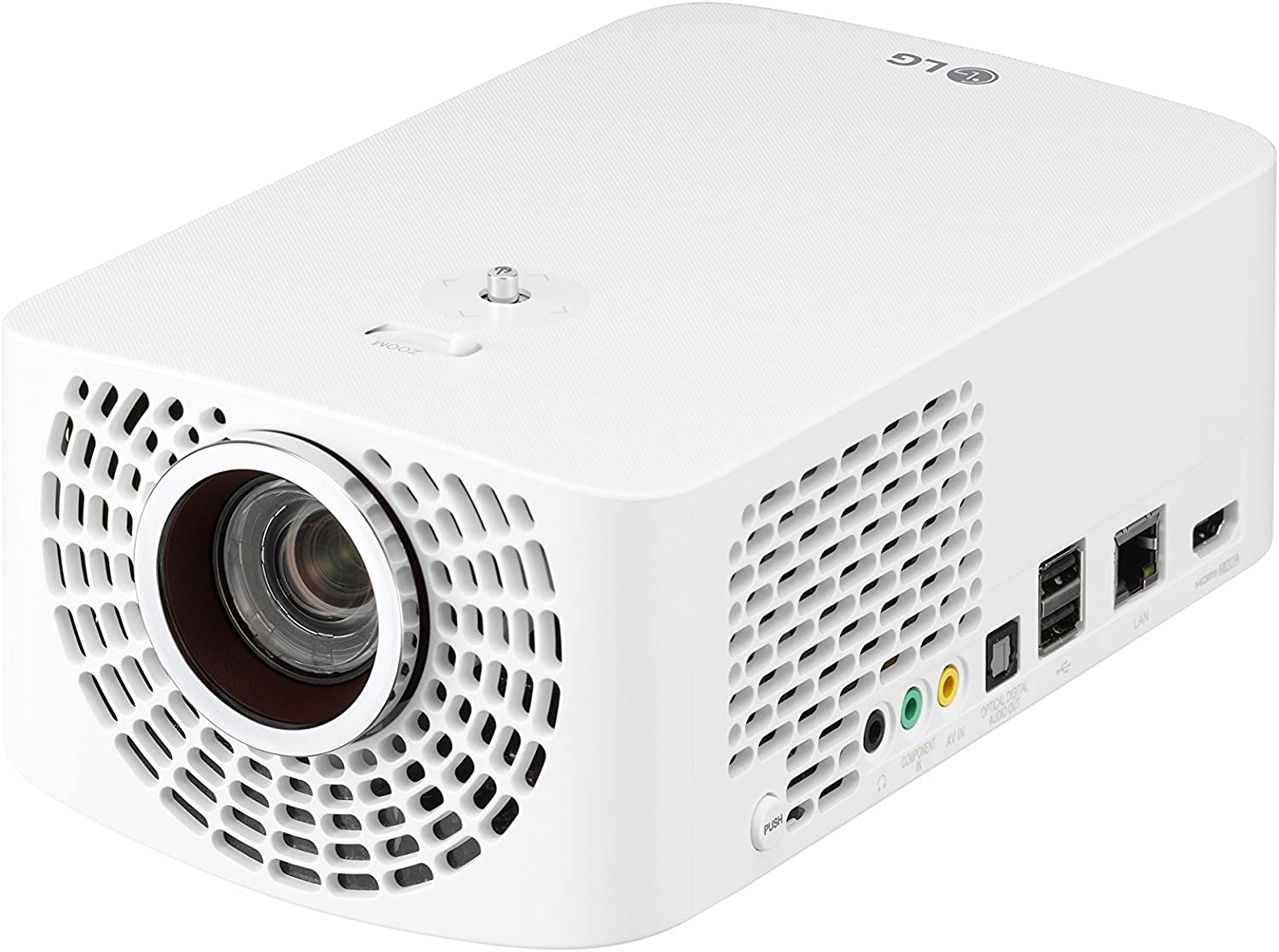 LG PF1500 Full HD Portable LED Smart TV Home Theater Projector with Magic Remote