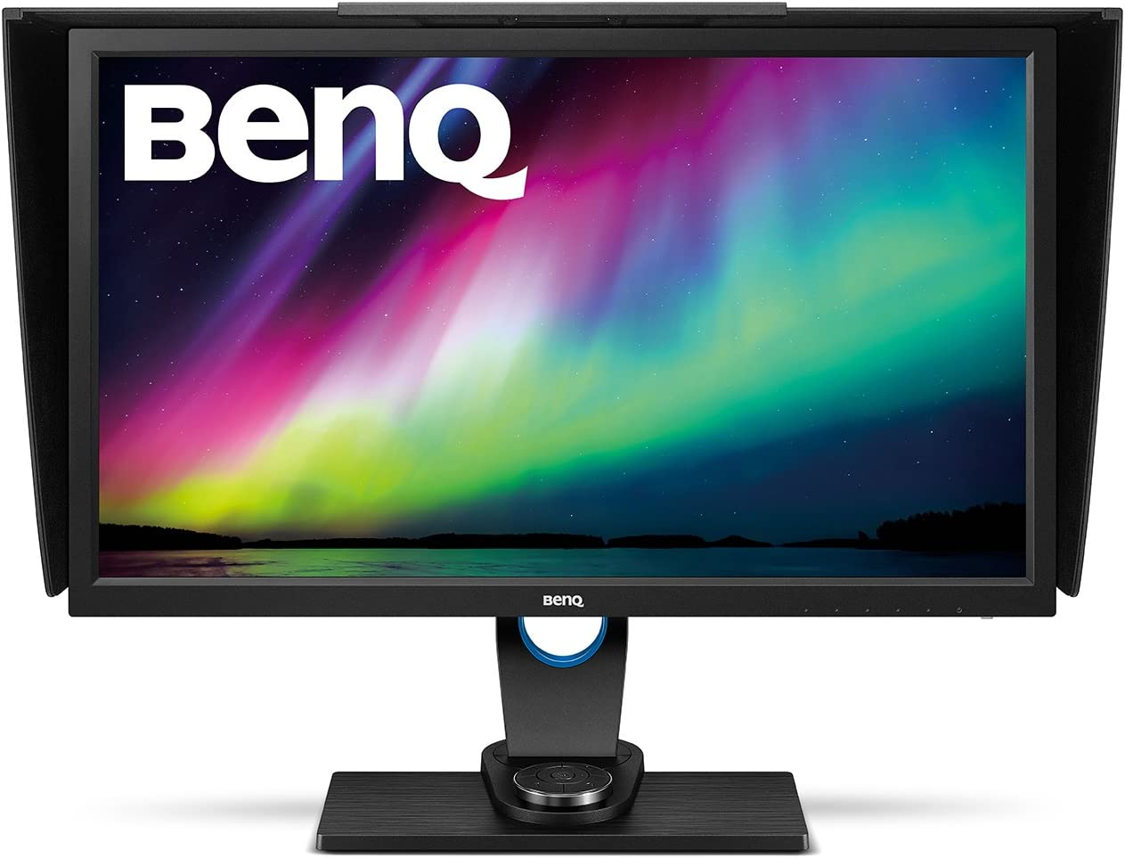 BenQ SW10PT 10 Inch QHD 10P IPS Photography Monitor  Aqcolor  technology for Accurate Reproduction  Hotkey Puck Efficiency Boost,Black