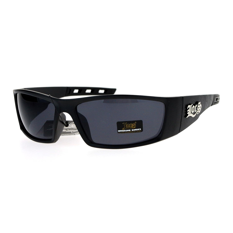 Amazon.com: Hombre Locs anteojos de sol diseño de calavera ...