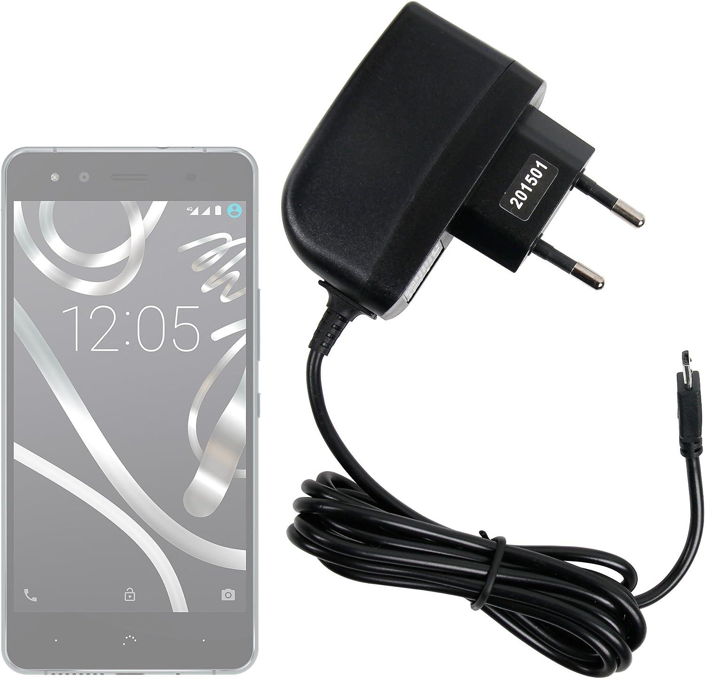 DURAGADGET Cargador (2 Amperios) para Smartphone BQ Aquaris U Lite ...