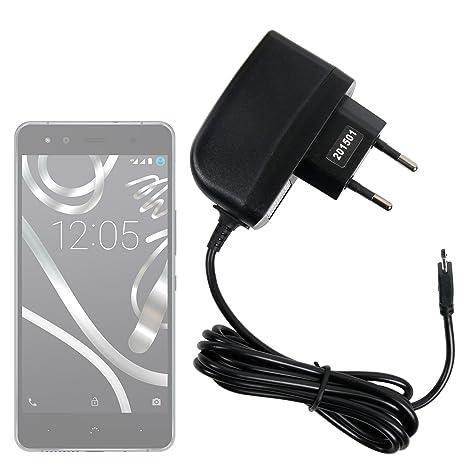 DURAGADGET Cargador (2 Amperios) para Smartphone BQ Aquaris ...