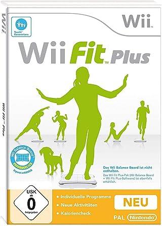 Fit Plus (Wii) [Importación inglesa]: Amazon.es: Videojuegos